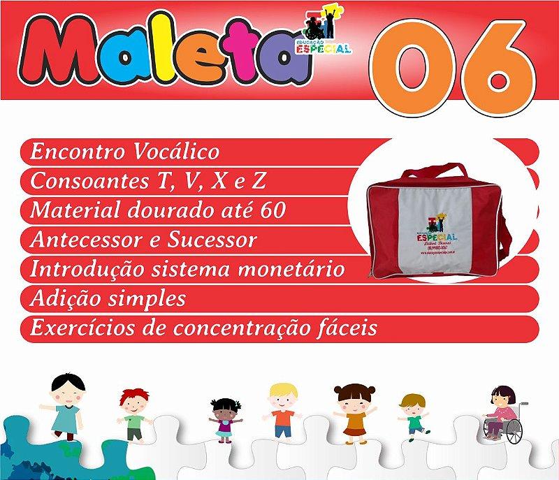 Maleta 06 - Kit com 30 Pastas