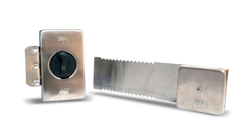 Fechadura para Porta de Vidro de Correr e Fecho Interno 20cm JBM FC2