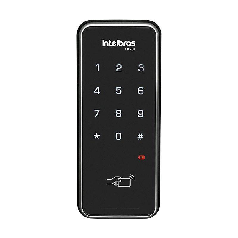 Fechadura Digital Touch Screen de Sobrepor Intelbras FR 201