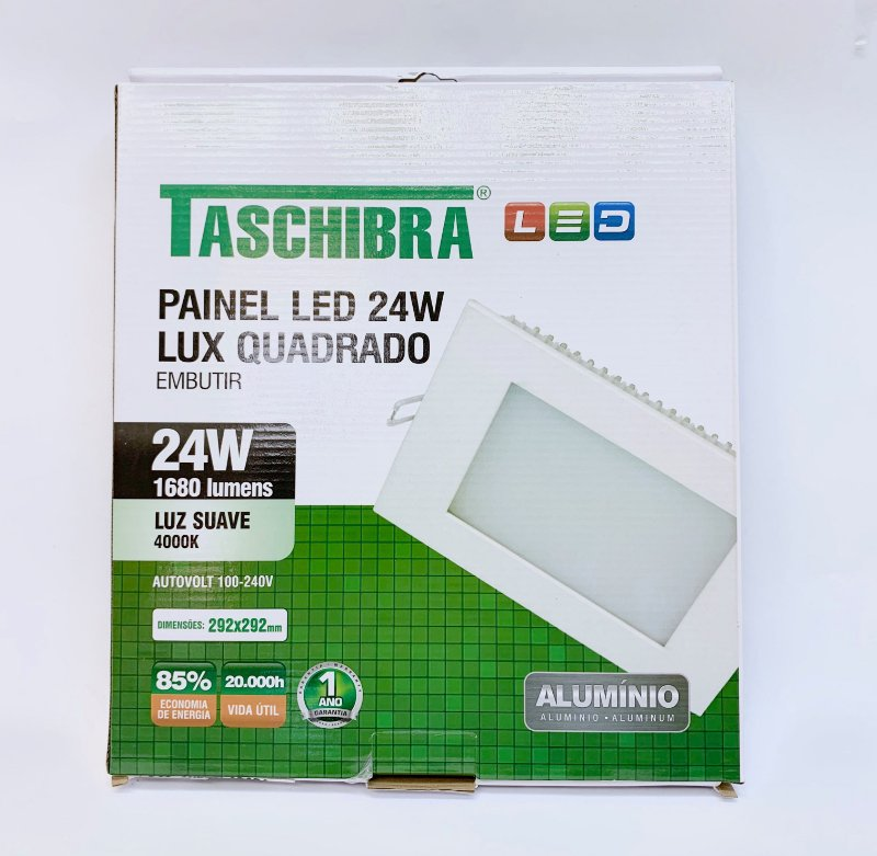 Luminaria Sobrepor LED 24w neutro