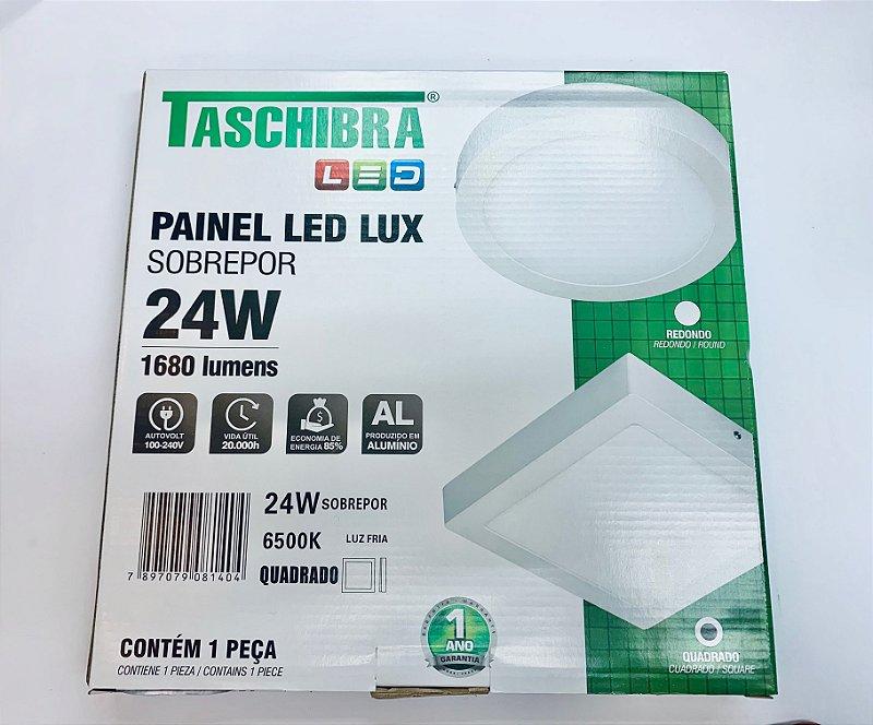 Luminaria Sobrepor LED 24w branco