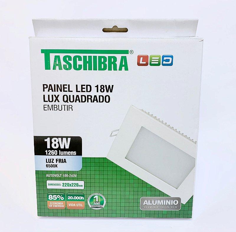 Luminaria Embutir LED 18w neutro
