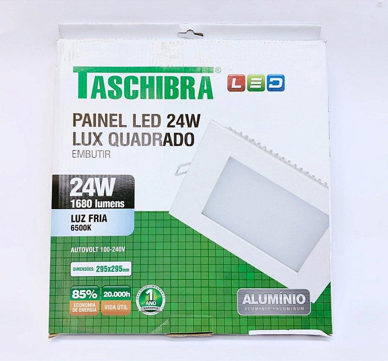 Luminaria Embutir LED 24w neutra