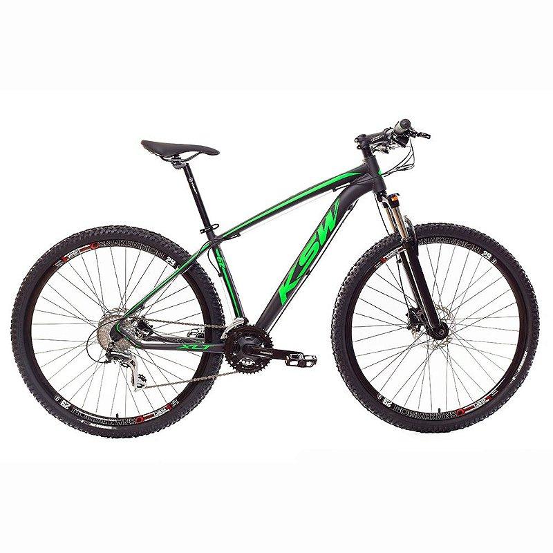 Bicicleta MTB Alum 29 KSW 24 Vel XLT Hidráulica