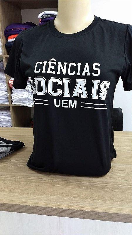 Camiseta ciências sociais UEM
