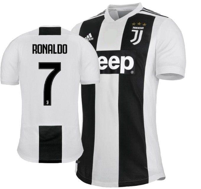 4fa1b8aed2be0 Camisa Juventus da Itália Home 2018 2019-Cristiano Ronaldo Nº7 - Rei ...
