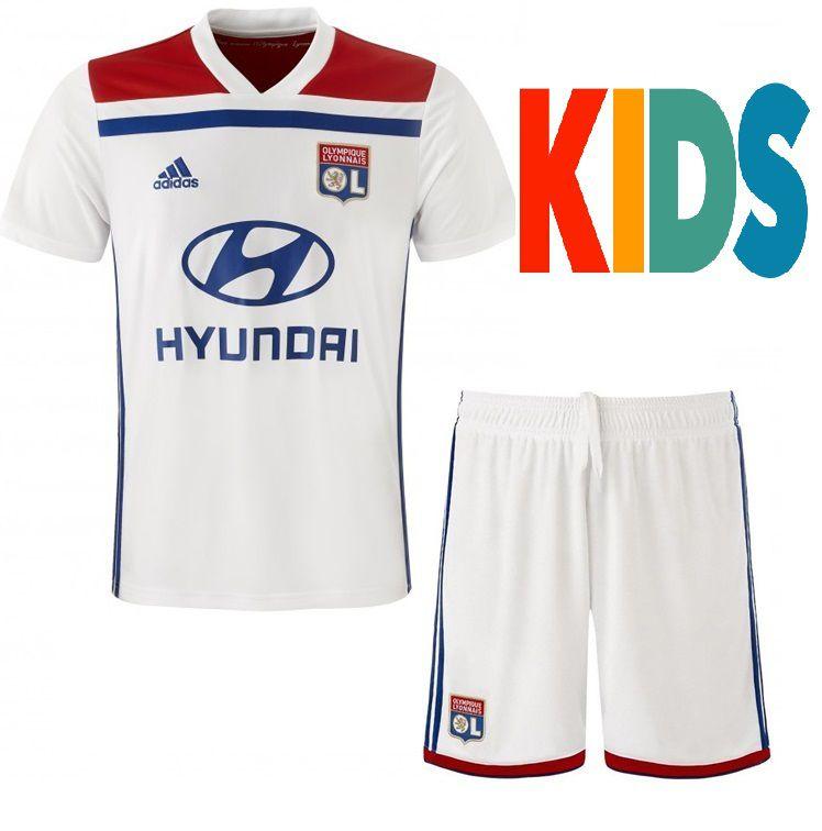 71d7a8a405 Kit Infantil Olympique Lyonnais Home 2018 2019-S N - Rei do Futebol