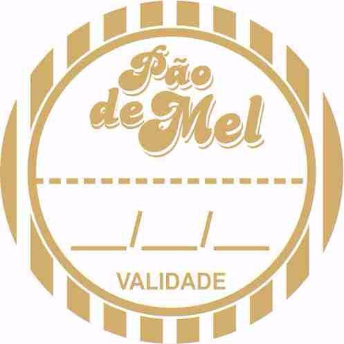 Etiqueta Adesiva Pao De Mel Cod 093 C 50 Un Massai Rizzo