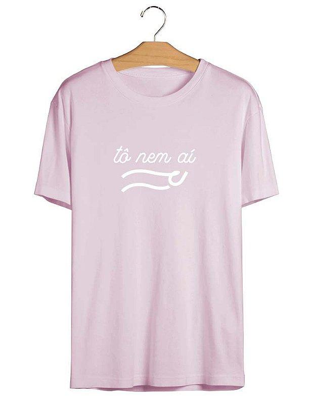 Camiseta Frase Tô Nem Aí Meme