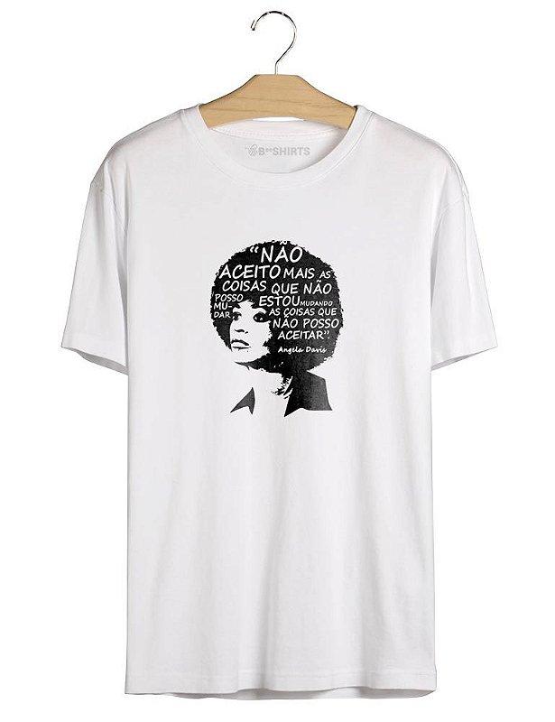 Camiseta Feminista - Angela Davis