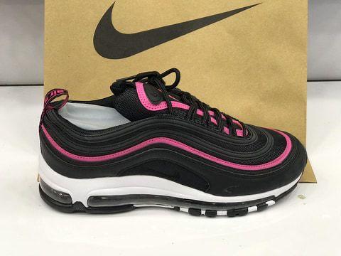 air max 97 rosa e preto