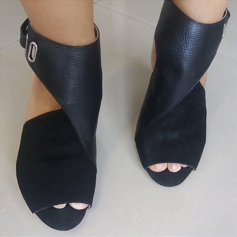 Ankle Boot Preto
