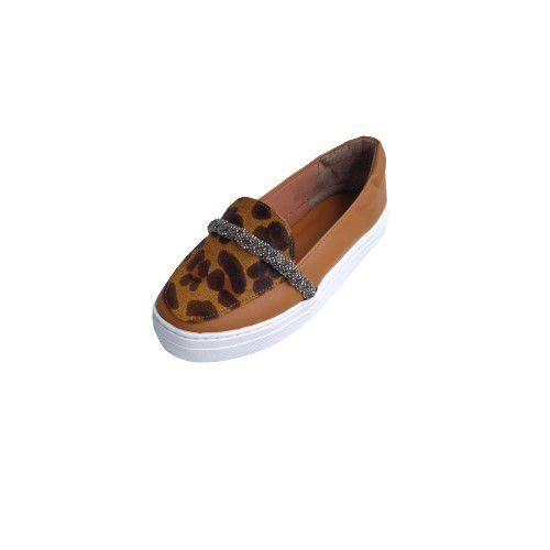 SLIPON ANIMAL PRINT
