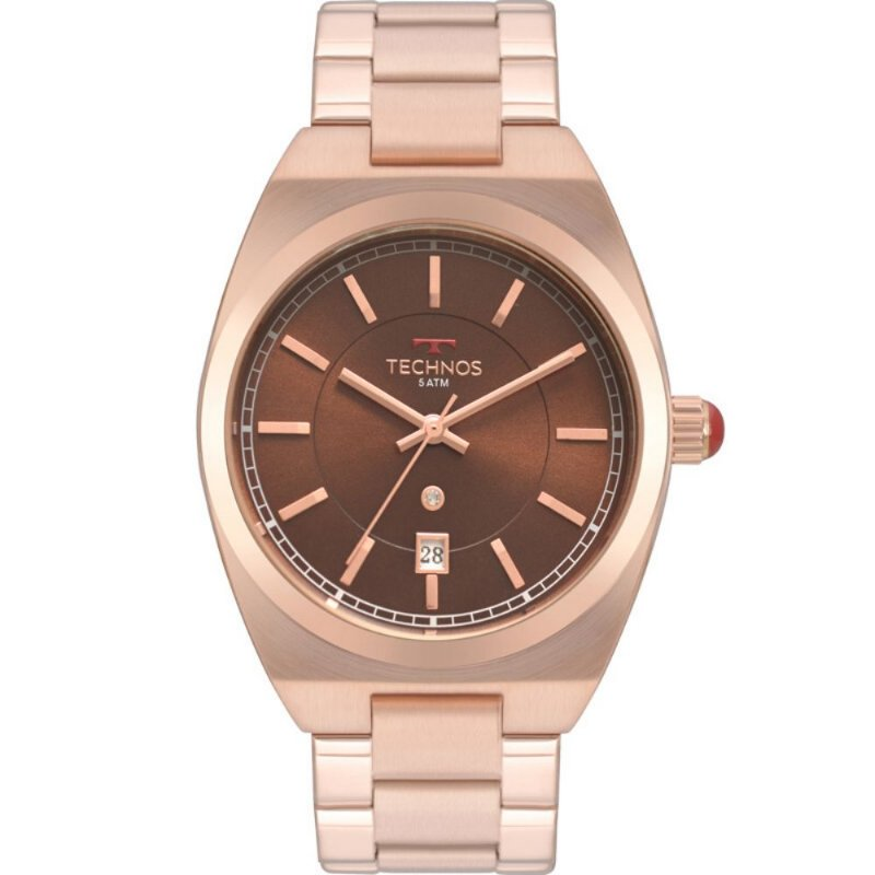 Relogio Feminino Rose Technos Fashion Original + Nf