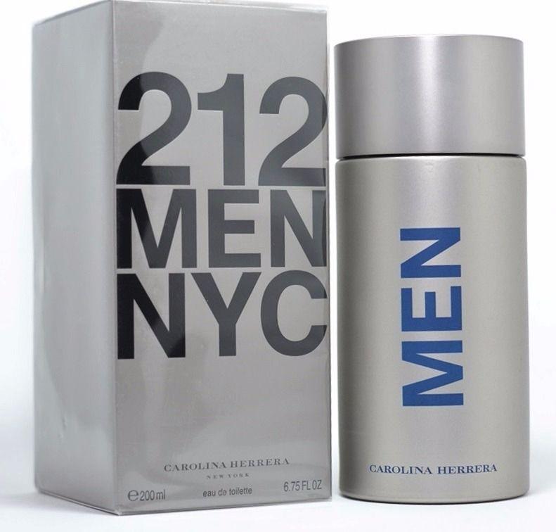 3bc462a8a Perfume Masculino 212 Men Carolina Herrera Eau De Toilette 200ml ...