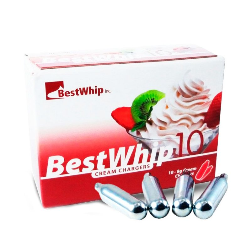 Best Whip 10 - cápsulas de gás para creme chantilly