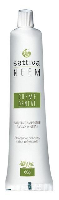 Creme Dental Sattiva de Neem