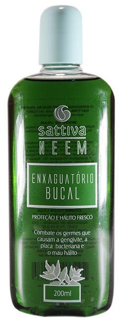 Enxaguatório Bucal Sattiva Neem