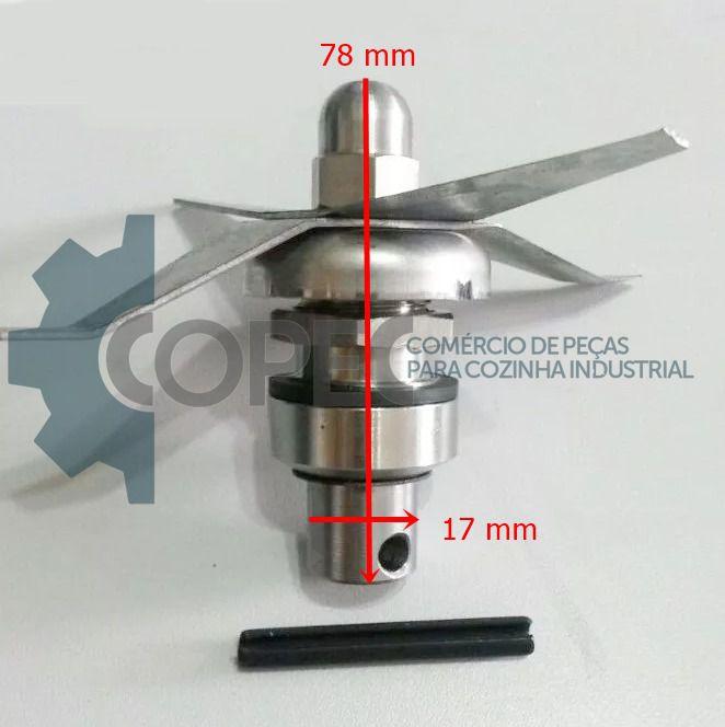 Mancal Completo Liquidificador LAR LS 4 a 10L Skymsen