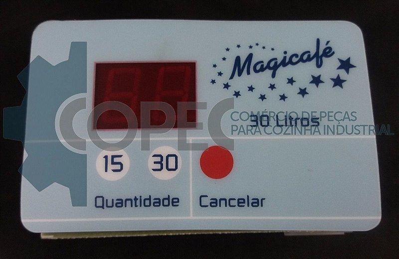 Placa Comando Membrana Cafeteira Magicafé 10L Universal