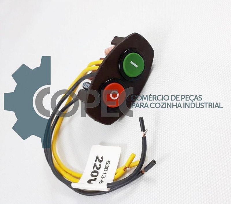Chave Tecla L/D Completa 220V Liquidificador Skymsen