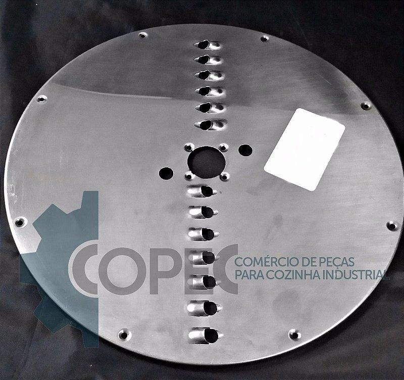 Chapa Disco Desfiador 8mm Processador de Alimentos PA-7S/L Skymsen