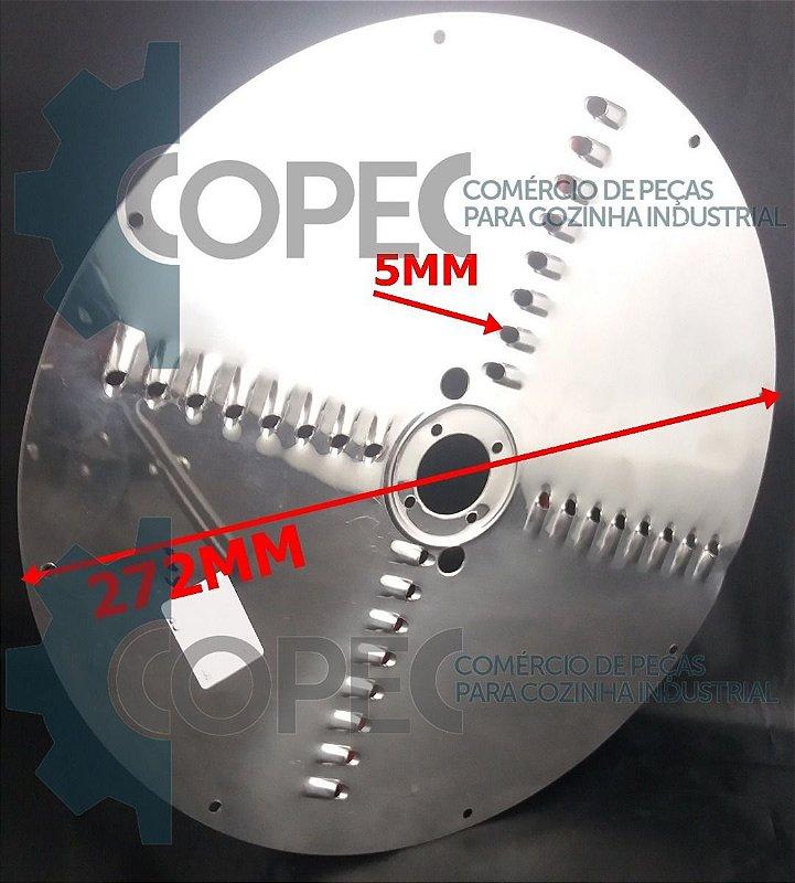 Chapa Disco Desfiador 5mm Processador Alimentos PA-7C Skymsen
