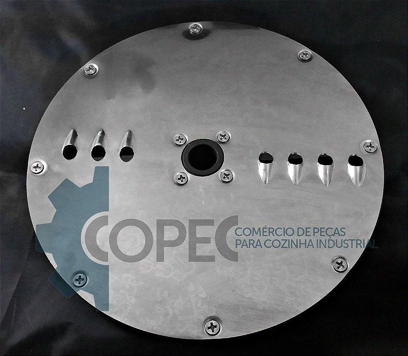 Disco Desfiador 8mm Processador Alimentos Rda Antigo Metvisa