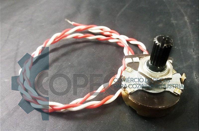 Potenciômetro Embaladora R. Baião Metal Brey
