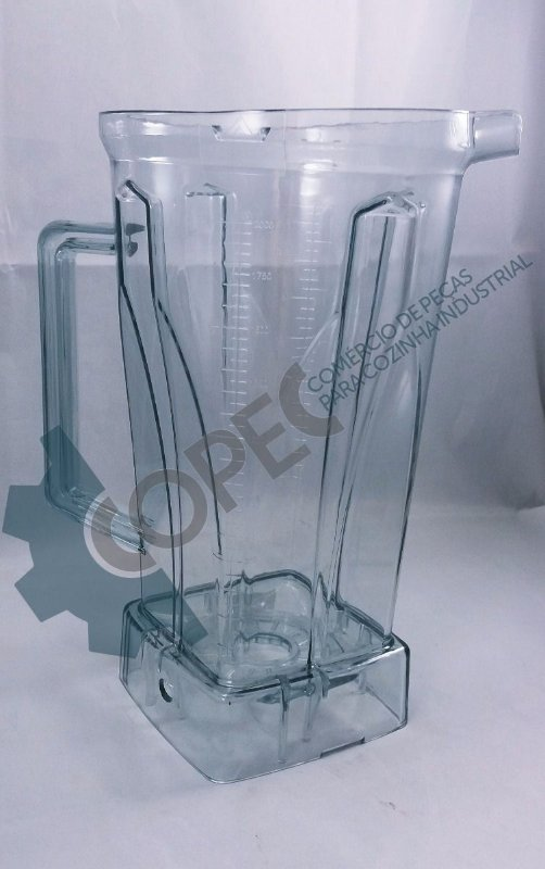 Copo Acrílico Liquidificador Blender Oxy Marchesoni
