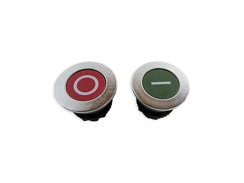 Kit Botões Vermelho Verde Processador CL50D Robot Coupe