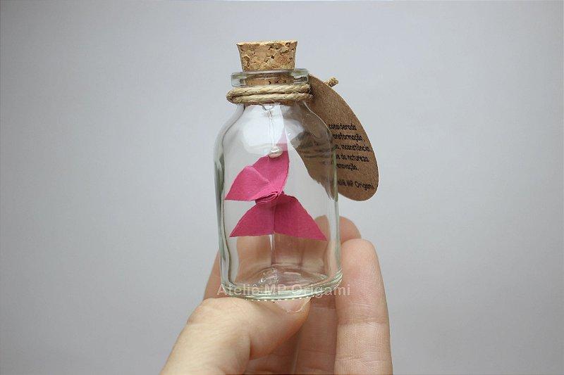 Lembrancinha aniversário borboleta na garrafinha