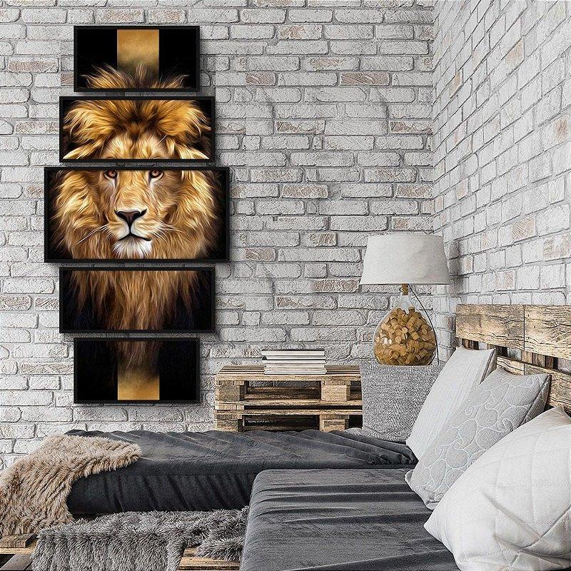 Quadro Decorativo Jogo Leão De Judá