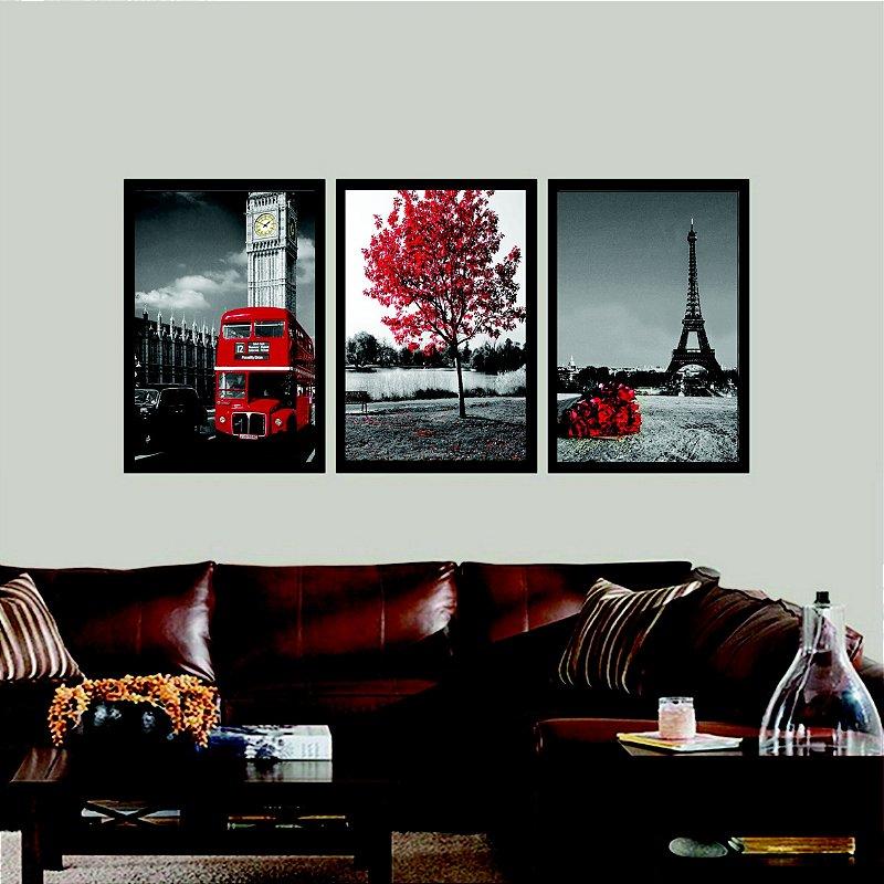 Quadro Decorativo Torre Eiffel  Sala Quarto
