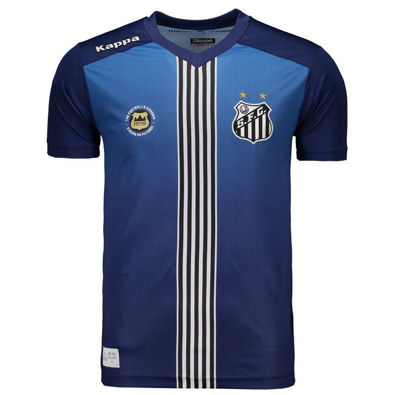 Loja Loucos por futebol - Camisa oficial Kappa Santos 2016 III ... ff0f34ba25b4b