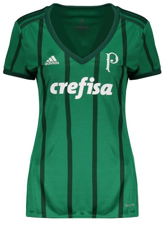 Loja Loucos por futebol - Camisa Feminina oficial Adidas Palmeiras ... abfbac74047b8