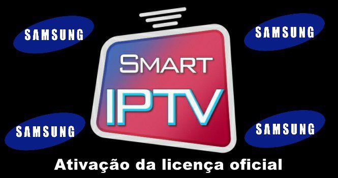 Ativação licença Smart IPTV Samsung