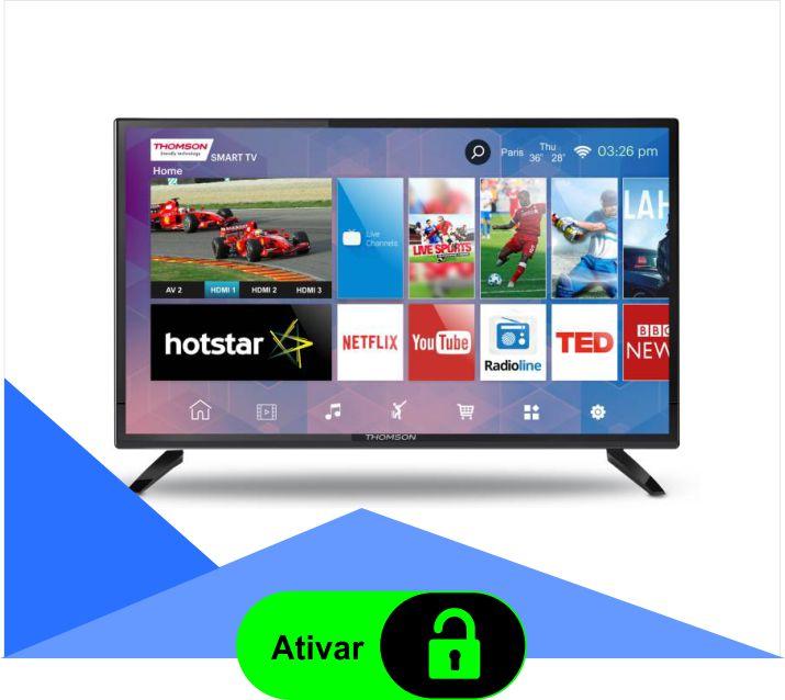 Ativação licença Smart IPTV + Plano Diamante 30 dias