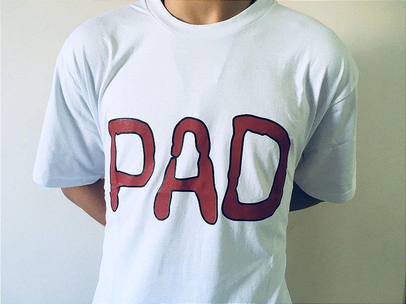 Camiseta PAD Branca