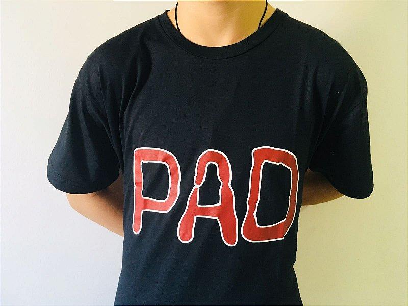 Camiseta PAD Preta