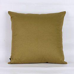Capa de Almofada Sarja Lisa Verde Claro- 45 x 45 cm