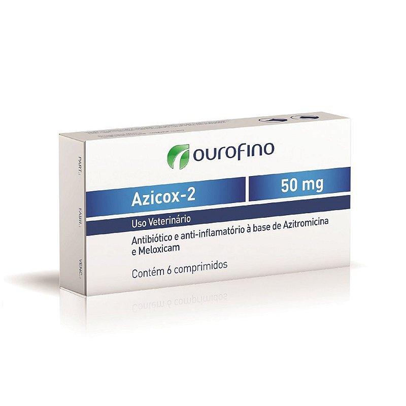 Azicox 2 50mg Ourofino 6 Comprimidos