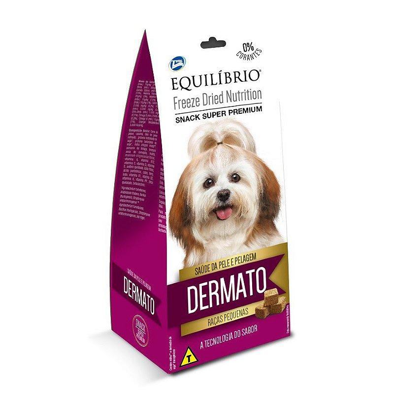Petisco Equilíbrio Freeze Dried Nutrition Dermato para Cães Adultos de Raças Pequenas - 30g