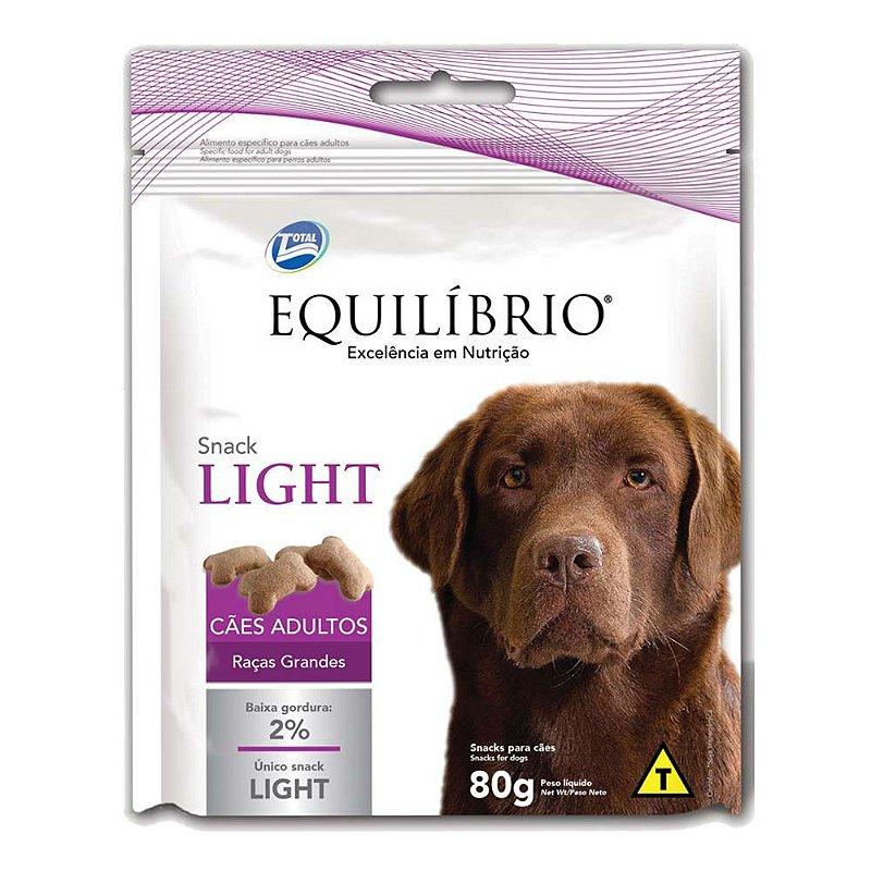 Biscoito Equilíbrio Light para Cães Adultos de Raças Grandes - 80g