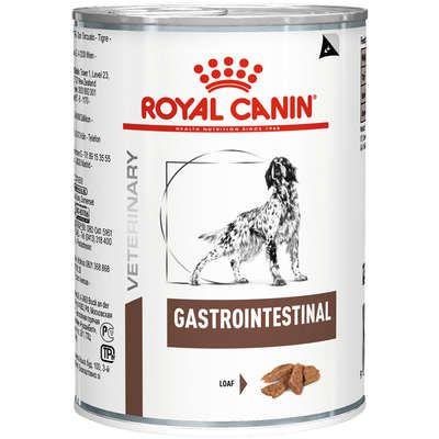 Ração Royal Canin Lata Veterinary Gastro Intestinal para Cães Adultos 400g