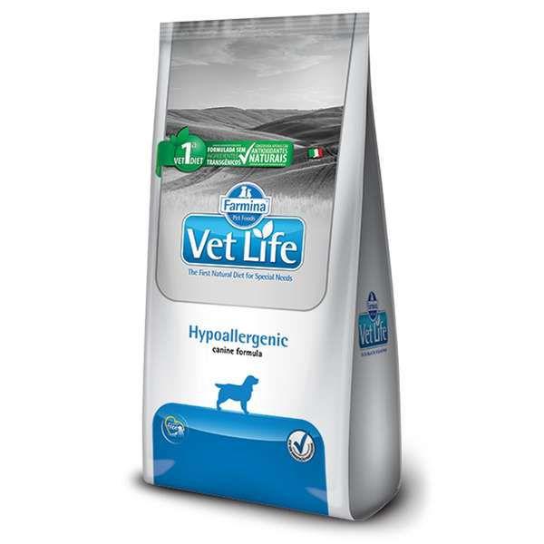 Ração Vet Life Natural Hypoallergenic para Cães Adultos