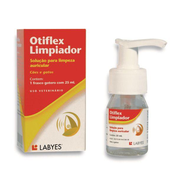 Solução Para Limpeza de Ouvidos Labyes Otiflex Para Cães e Gatos