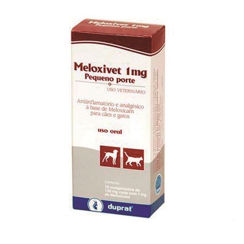 Meloxivet Duprat 1mg - 10 Comprimidos