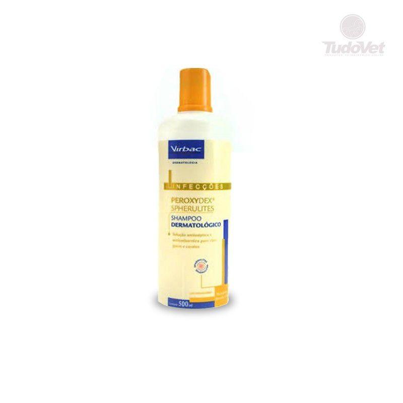 Shampoo Dermatológico Virbac Peroxydex Spherulites para Cães e Gatos