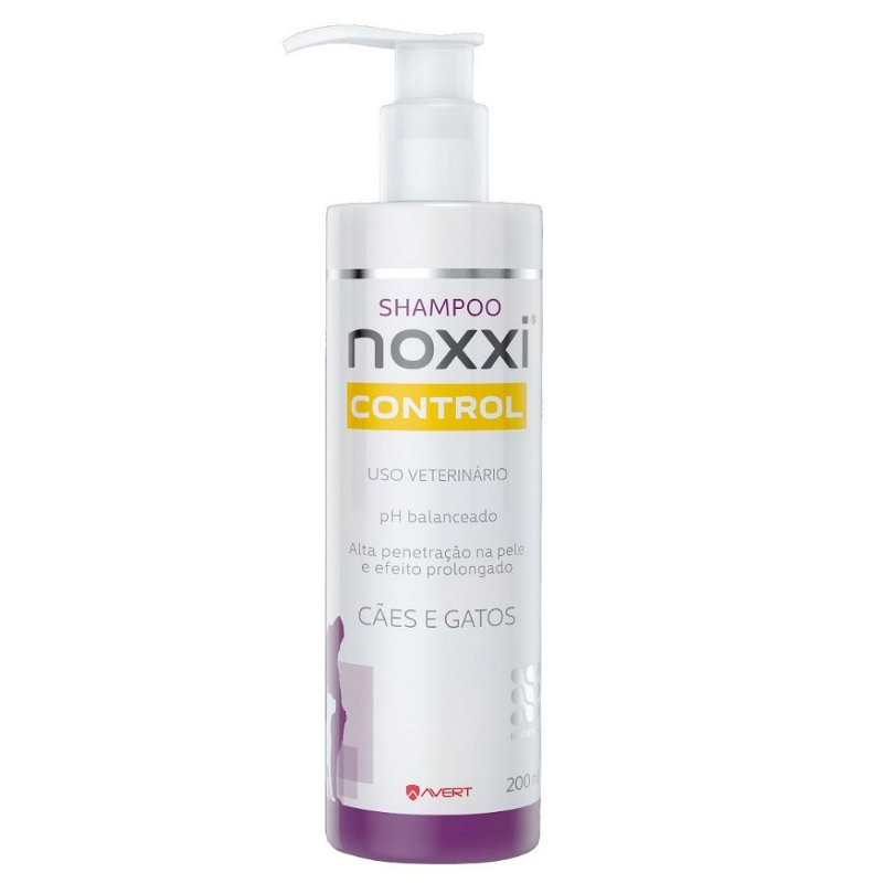 Shampoo Avert Noxxi Control para Cães e Gatos - 200ml